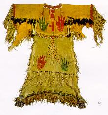 Native American Clothing- Ghost Dance dress, 1890