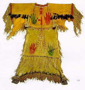 1890 Ghost Dance Dress of the Lakota Sioux